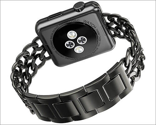 AOKAY Stainless Steel Band for Apple Watch Series 3