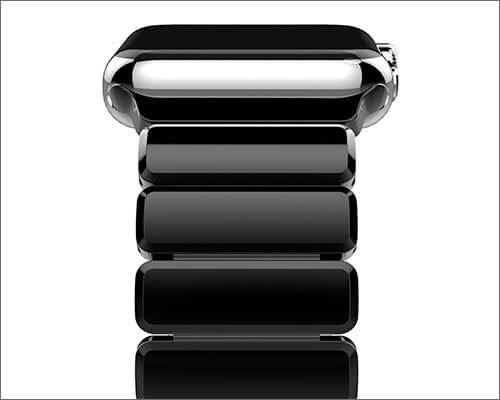 Oittm Stainless Steel Band for Apple Watch Series 3