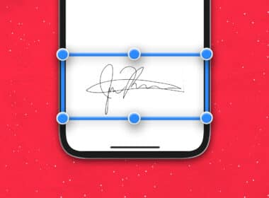 How to sign a document on an iPhone, iPad, and Mac