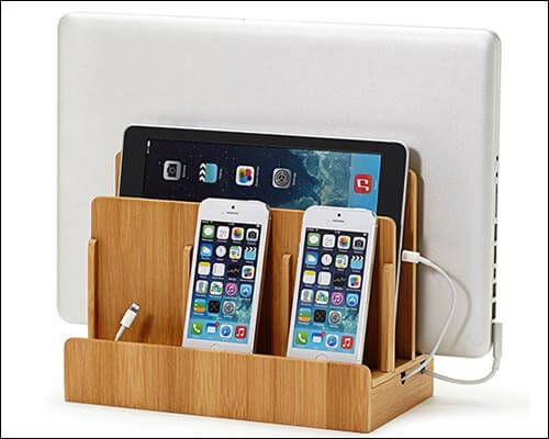 GUS iPhone 5-5s Wooden Docking Station