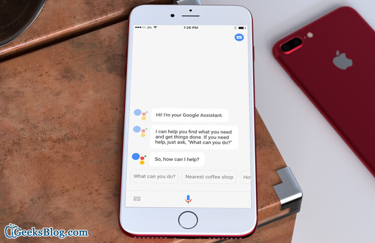 How To Set Up And Use Google Assistant On Iphone And Ipad