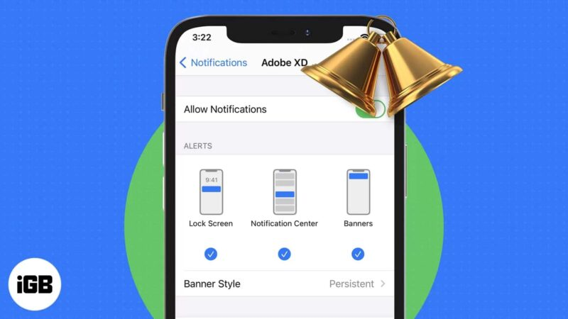 How to enable persistent notifications on iPhone and iPad