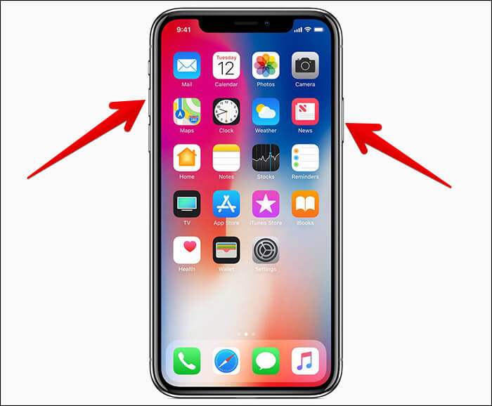 take screenshot on iphone how to take a screenshot on iphone x there are two ways 16248