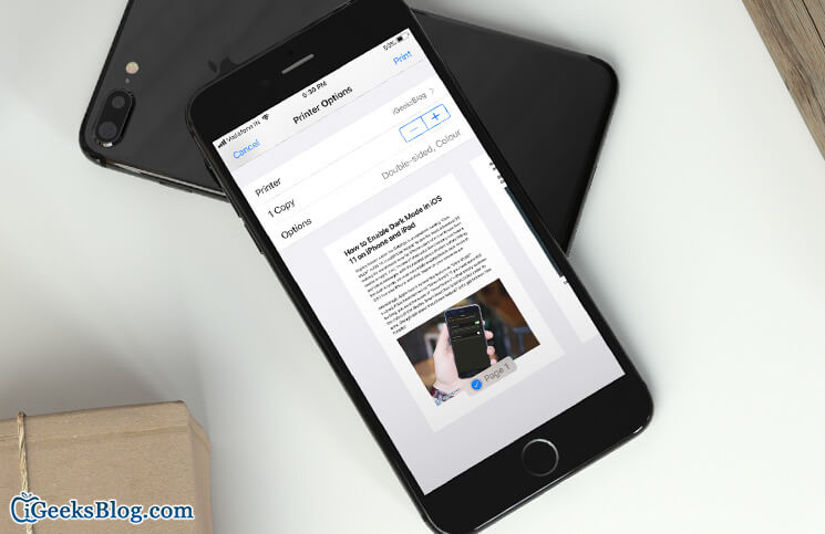 How to Print Webpage without Ads in Safari on iPhone or iPad