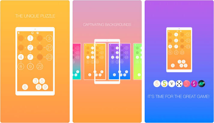 Math Puzzle iPhone and iPad Game Screenshot