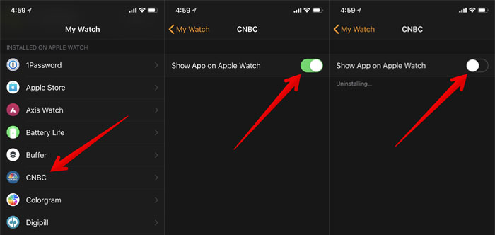 Eliminate All the Unwanted Apps on Apple Watch