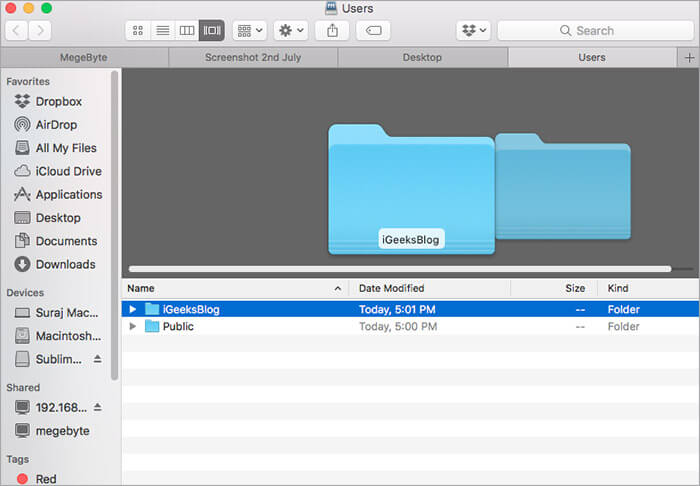 Share Files from Windows PC to Mac Wirelessly