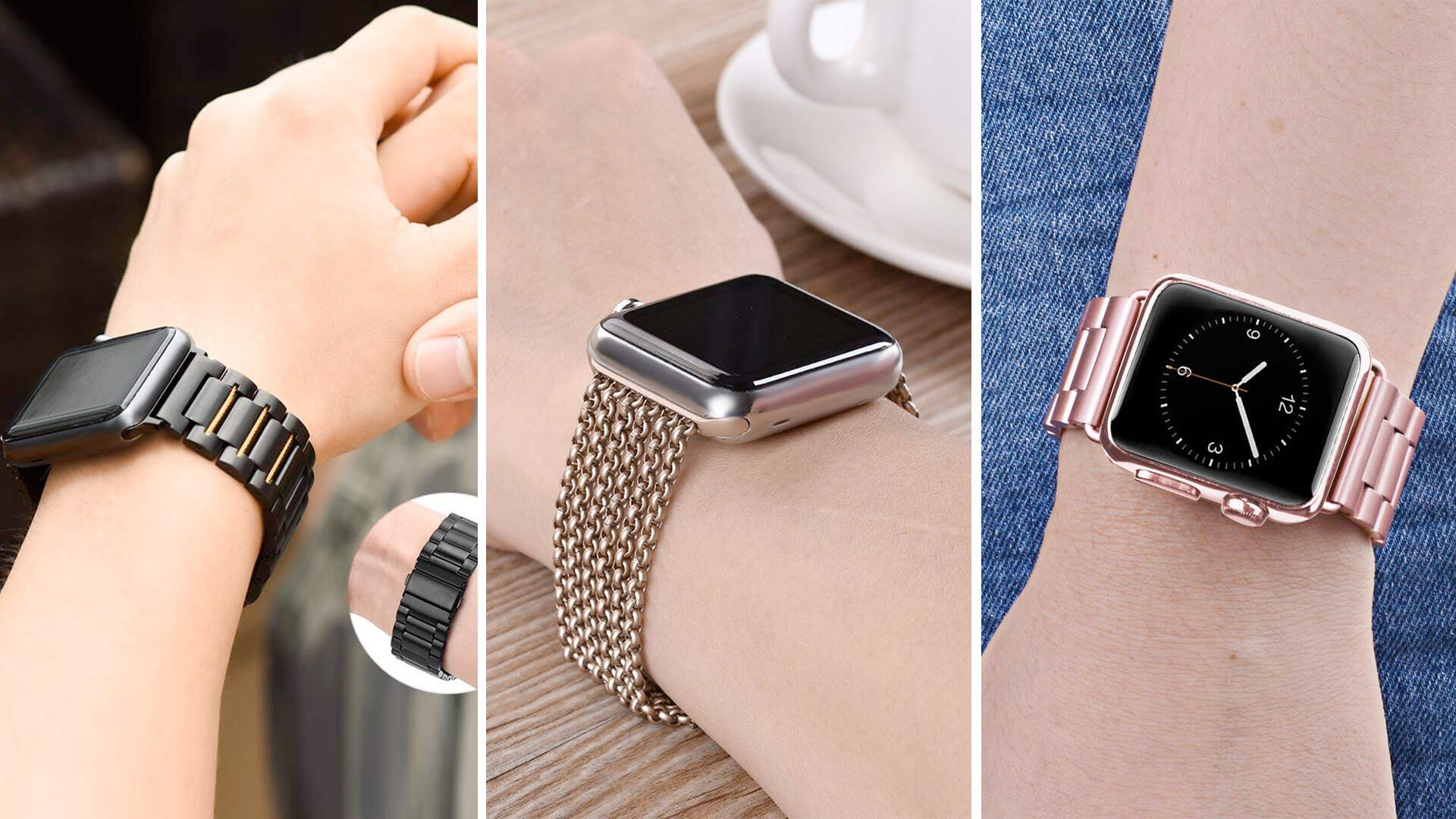 Best Apple Watch Series 4 Stainless Steel Bands