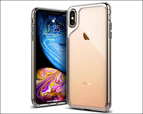 Caseology iPhone Xs Max Transparent Military Grade Case