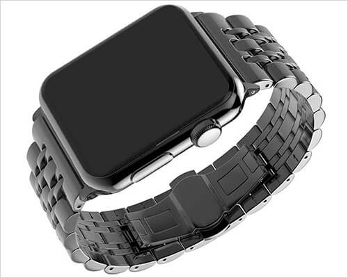 PUGO TOP Stainless Steel Band for Apple Watch Series 4