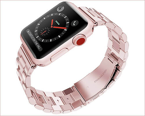Wolait Stainless Steel Band for Apple Watch Series 4