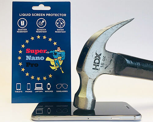 Super Nano Pro iPhone Xs Max, Xs, and iPhone XR Liquid Screen Protector