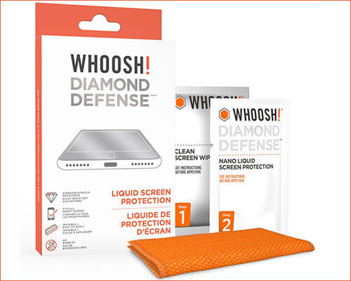 WHOOSH Liquid Screen Protector for iPhone Xs Max, Xs, and iPhone XR