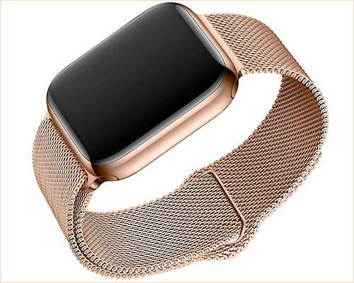 BMBEAR Apple Watch Series 4 Stainless Steel Band