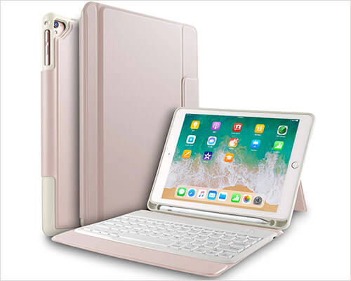 IVSO 10.5-inch iPad Pro Keyboard Case