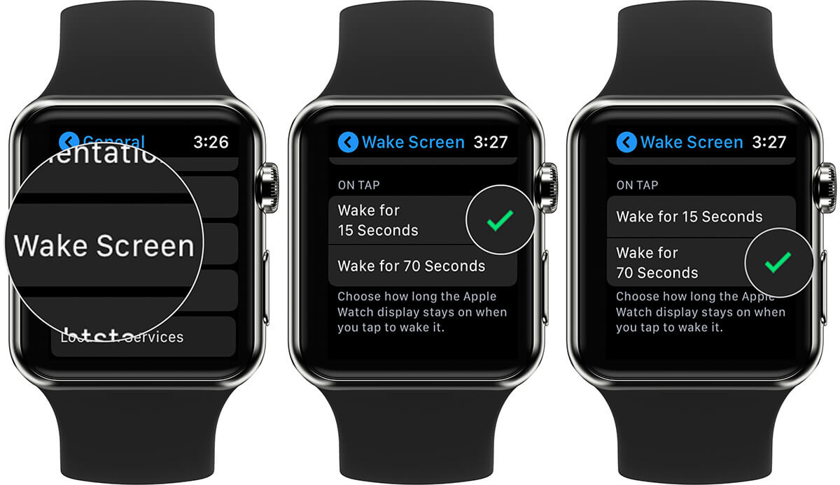 Keep Apple Watch Display ON for Long Tine