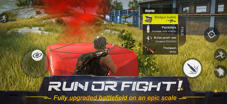 Rules of Survival iPhone and iPad Game Screenshot