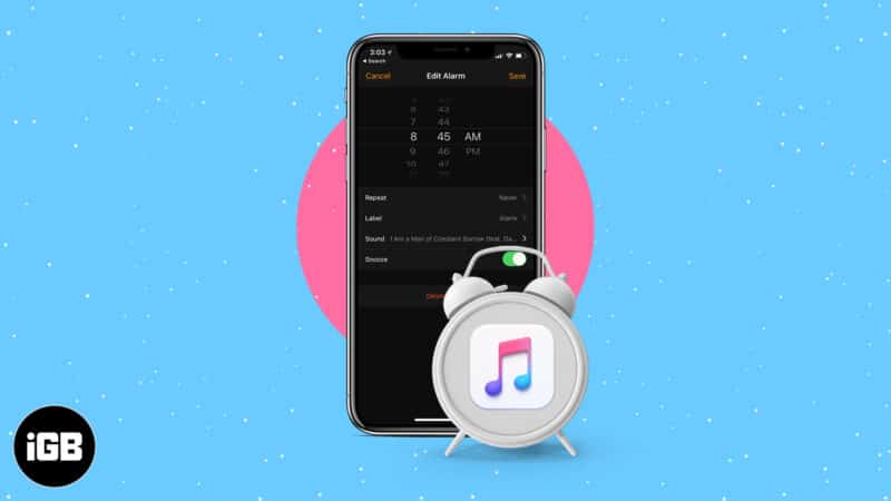 How to set an Apple Music song as your iPhone alarm