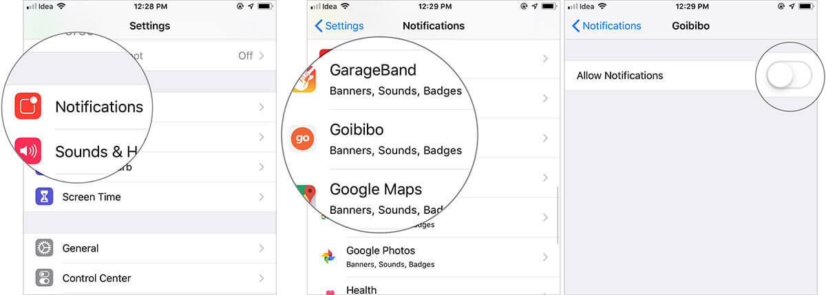 Allow Only Selected Apps to Send You Notifications on iPhone