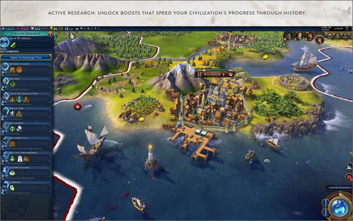 Civilization VI Mac Game Screenshot