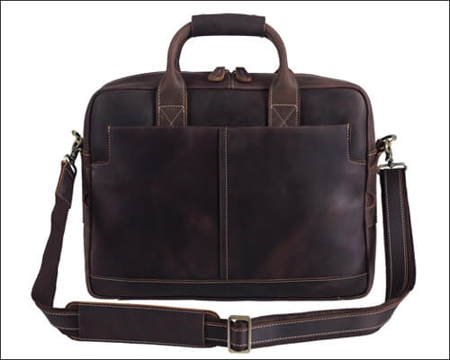 Genuine Leather Bag Gift Idea for Fathers Day