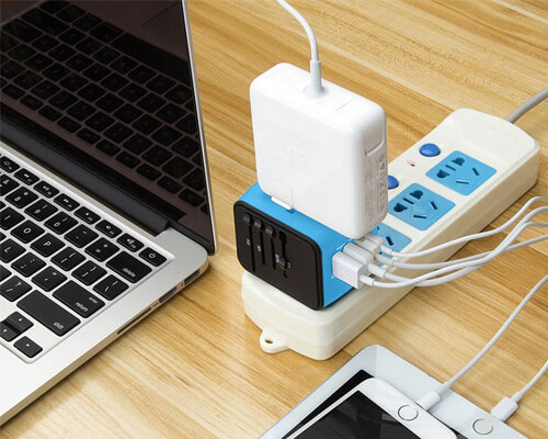 Universal Power Adapter Gift Idea for Fathers Day