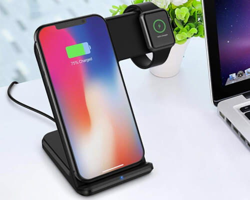 Wireless Charging Dock Gift Idea for Fathers Day