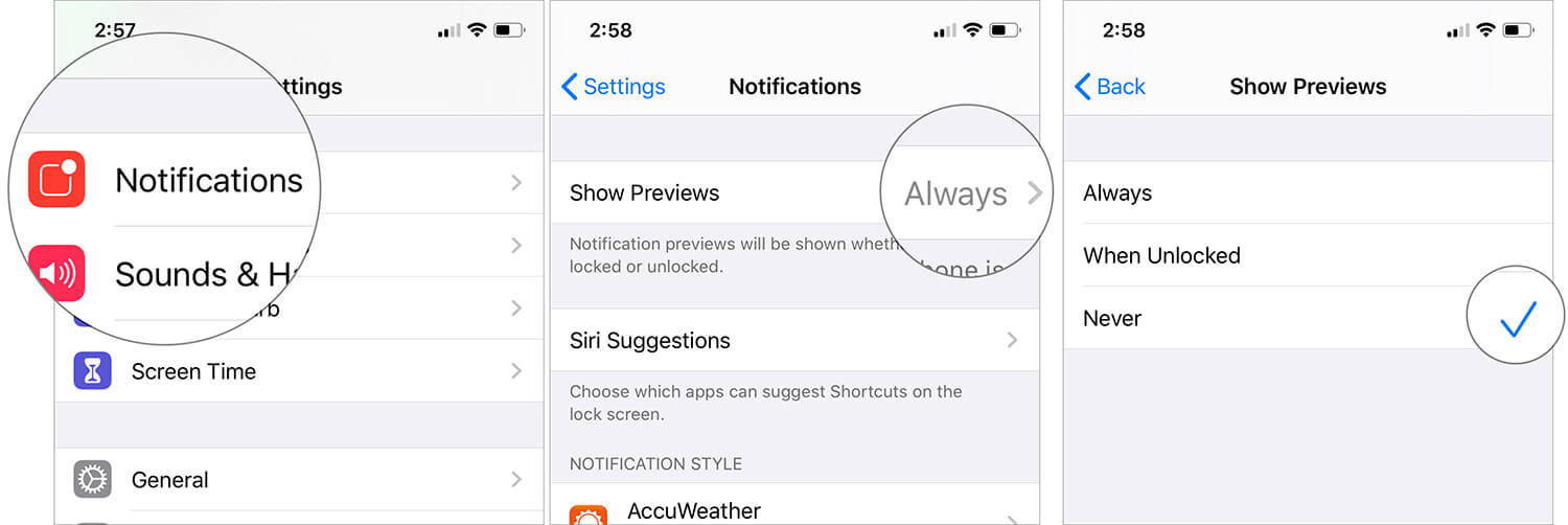 Disable App Notifications in iOS 13 on iPhone