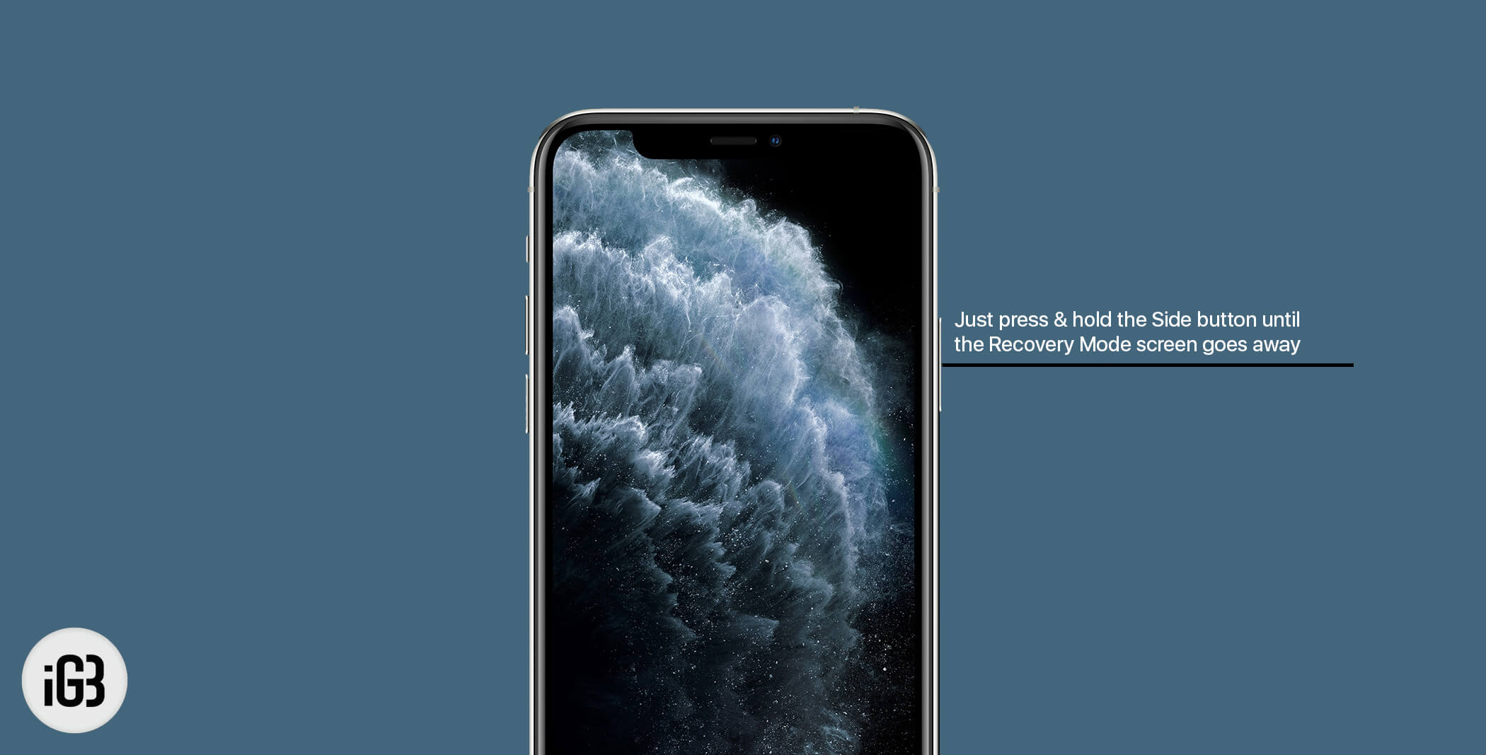 Exit Recovery Mode on iPhone 11 Pro Max, 11 Pro, and iPhone 11