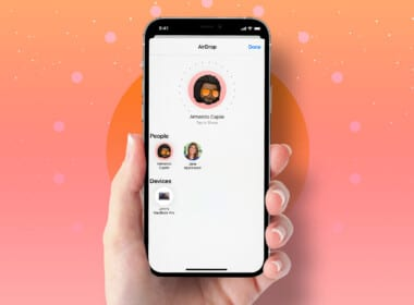 How to share original quality photos or videos using AirDrop on iPhone