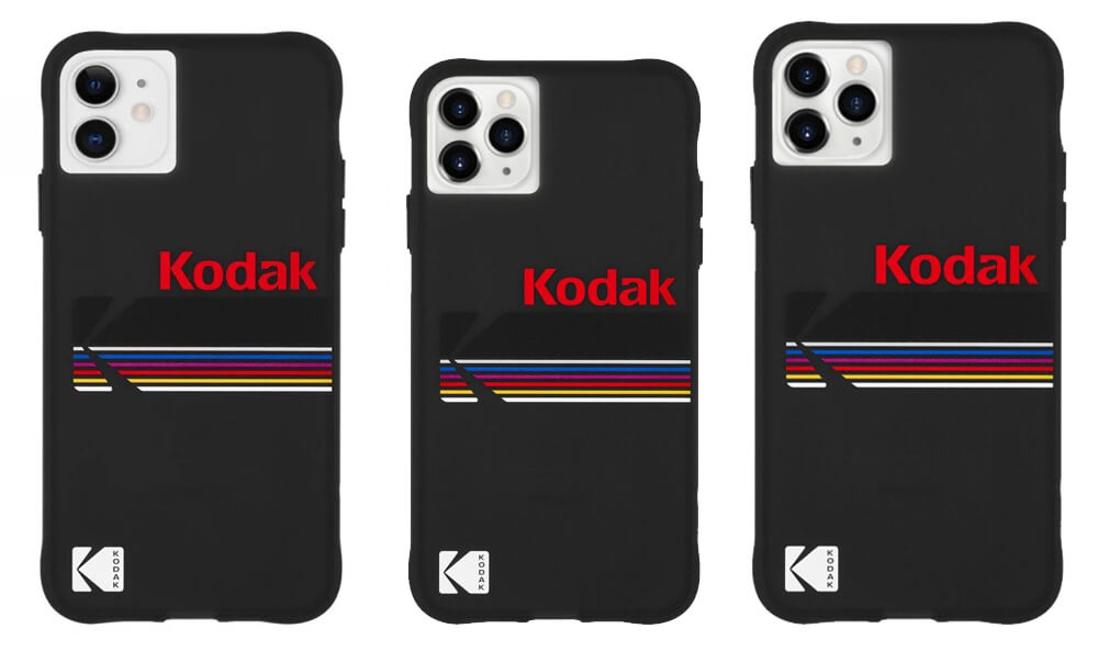 Kodak x CaseMate Case for iPhone 11 Pro Max, 11 Pro, and iPhone 11