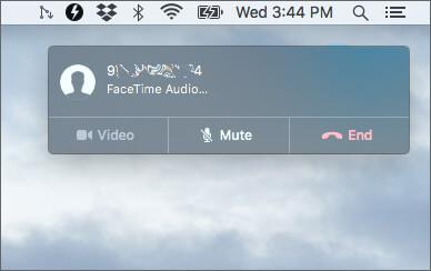 Make a Phone call from Mac