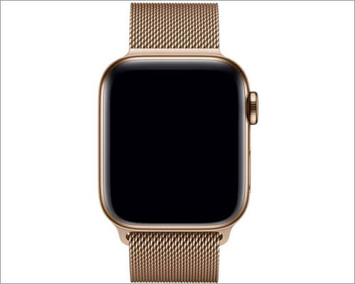 Milanese Stainless Steel Loop Band for Apple Watch Series 4