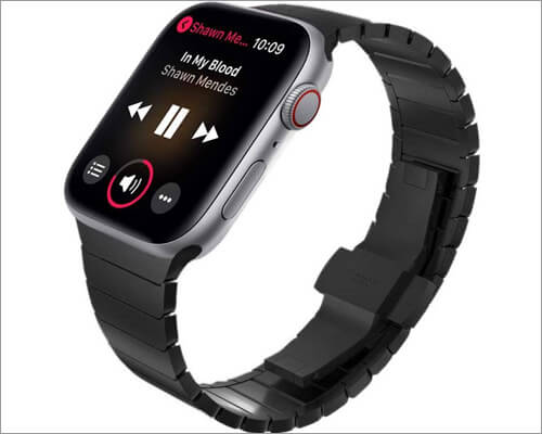 Stainless Steel Band for Apple Watch Series 4 from KADES