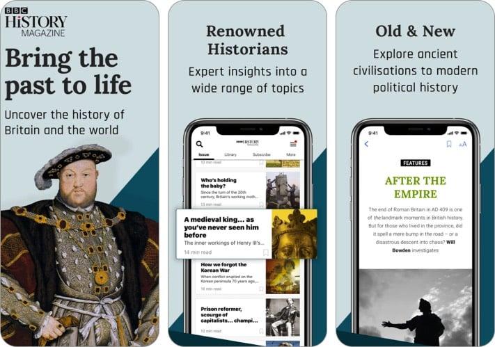 BBC History Magazine iPhone und iPad App