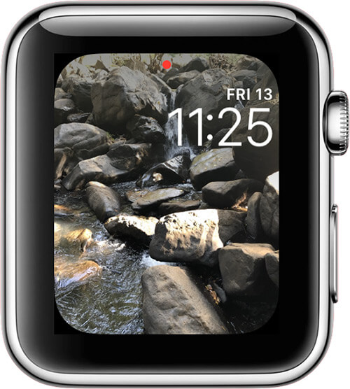 Add Your Photos to the Apple Watch Face Using Photos App on Apple Watch