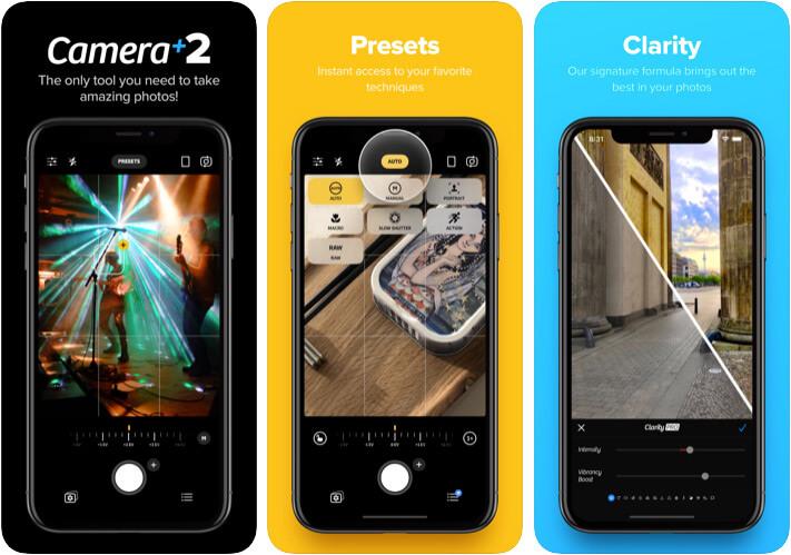 Camera Plus 2 Camera App for iPhone 11 Pro Max