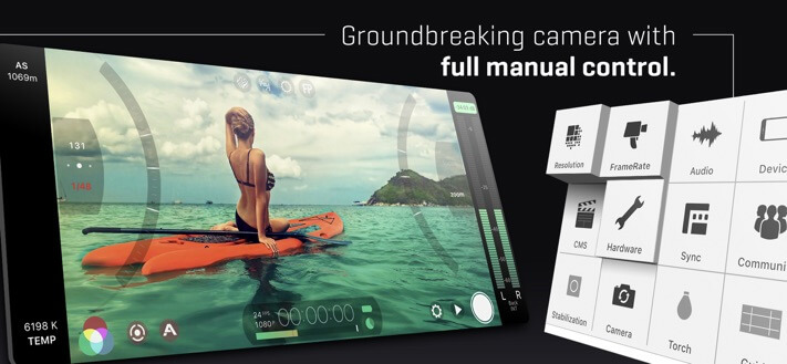 FiLMiC Pro Camera App for iPhone 11 Pro Max