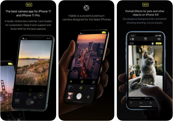 Halide Camera App for iPhone 11 Pro Max