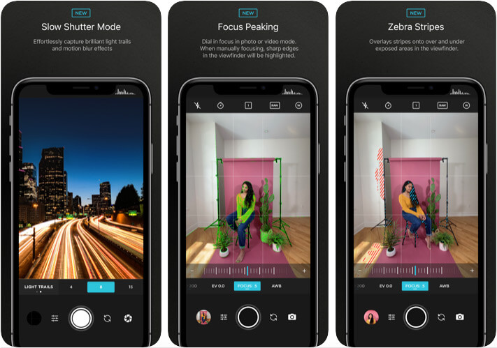 Moment Camera App for iPhone 11 Pro Max