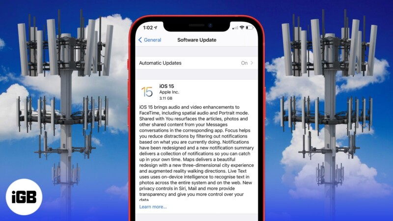 How to download and install iOS 15 on iPhone with mobile data