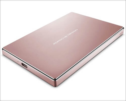 LaCie Porsche Design 2TB External Hard Drive for MacBook Air