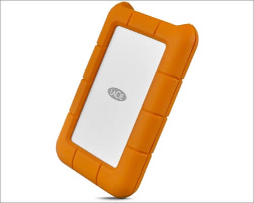 LaCie Rugged 1TB External Hard Drive for MacBook Air