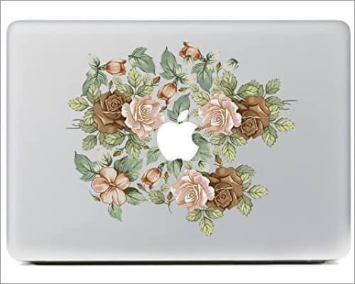 NDAD Colorful Flowers Skin for MacBook Air