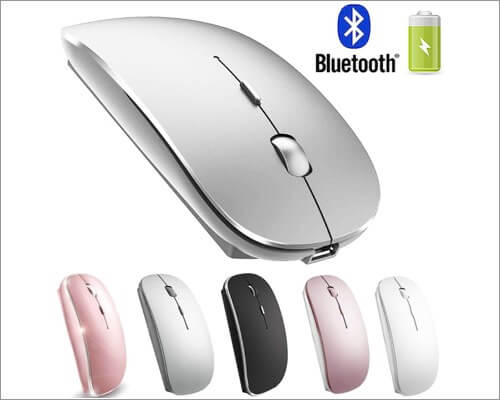 PEIBO Rechargeable Bluetooth Mouse for Mac Air