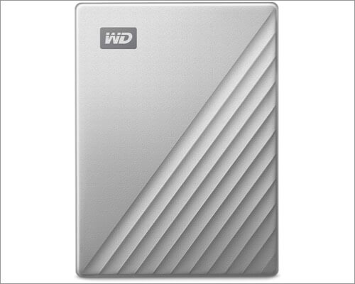 WD 2TB Portable External Hard Drive for MacBook Air