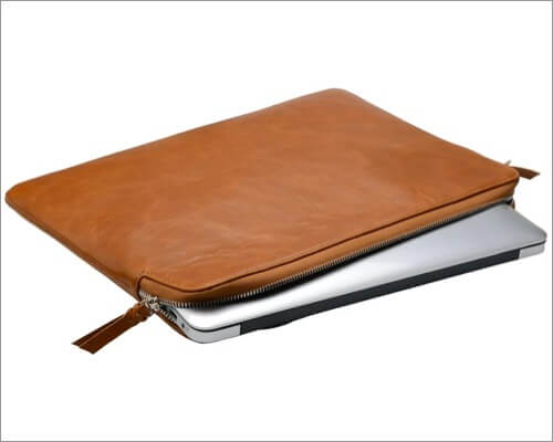 iCarryAlls Leather Sleeve Case for MacBook Air