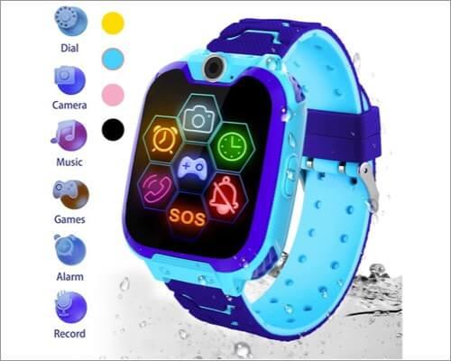 HuaWise Waterproof Smartwatch for Kids