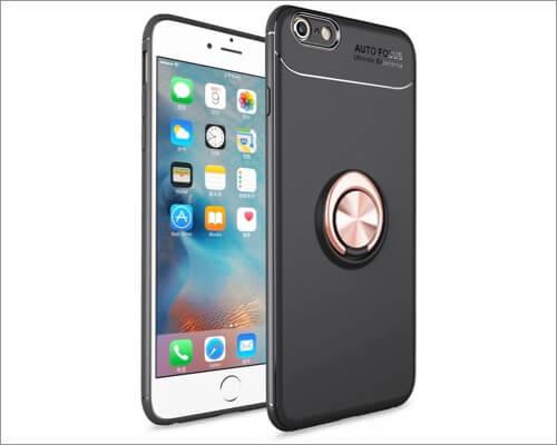 iCoverCase Ring Holder Case for iPhone SE 2020