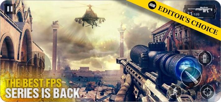 Modern Combat 5 PUBG-Alternativspiel für iPhone und iPad